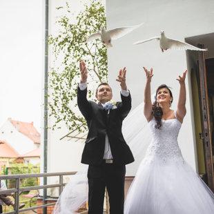 Foto od novomanželů